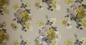 Identifying Wallpaper from an Image - floral wallpaper image seen on pinterest