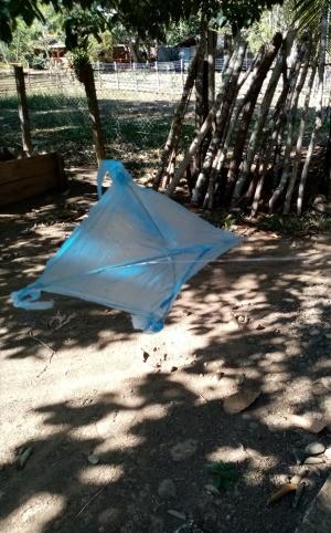 How to Make a Mini Kiddie Kite - kite