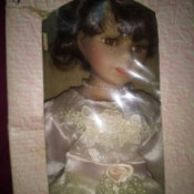 Value of a J. Misa Collection Doll - doll in a box
