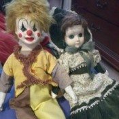 Value of Vintage Unidentified Porcelain Dolls - two dolls