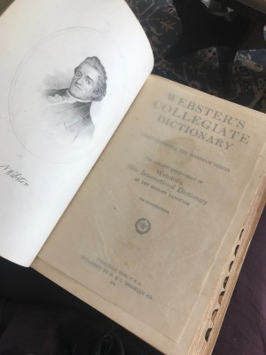 Value of a Webster's Collegiate Dictionary