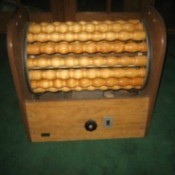 Finding a Vintage Wooden Roller Exercise Machine - image from TF of the piece in question