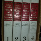 Value of Still Boxed Encyclopedia Britannica  - spine of Medical and Health encyclopedia