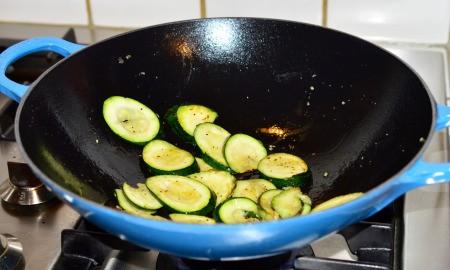 stir fried zucchini