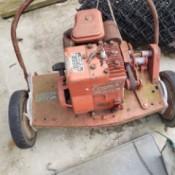 Value of a Cooper Klipper Gas Powered Reel Mower - old powered reel mower