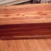 Value of a Murphy Cedar Chest - plain cedar chest