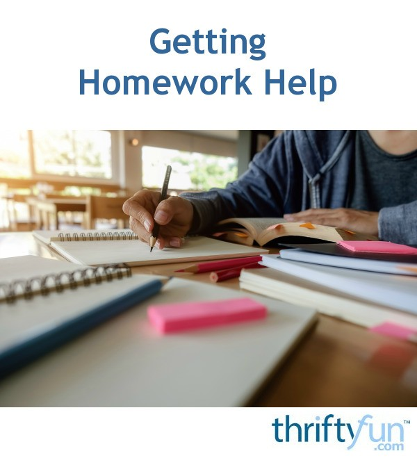 Homework help in