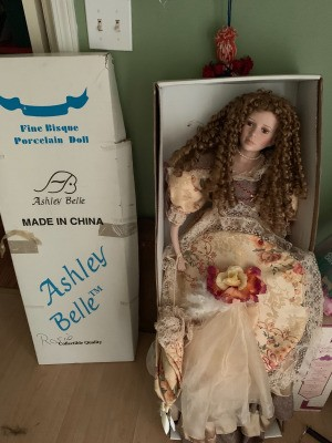 Value of an Ashley Bell Doll - doll in box