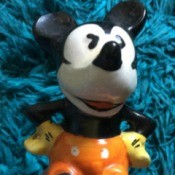 Value of My 1935 Mickey Mouse Figurine - vintage Mickey Mouse figurine