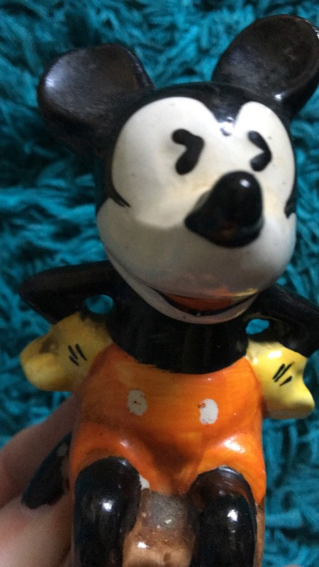 Value of My 1935 Mickey Mouse Figurine
