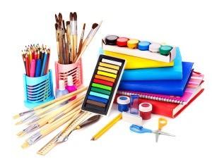 storing craft supplies