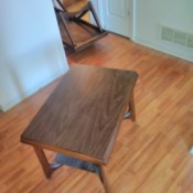 Value of Mersman Tables - rectangular end table