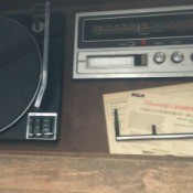 Value of a 1974 RCA Console Stereo and 8 Track