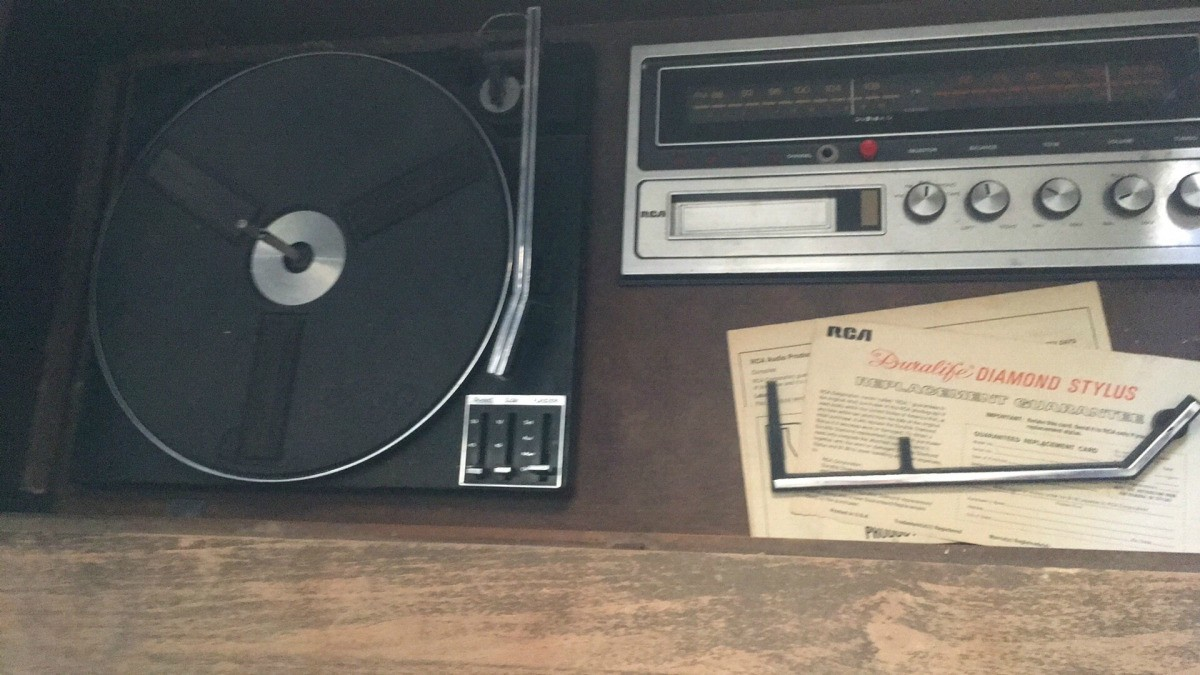 Value of a 1974 RCA Console Stereo and 8 Track | ThriftyFun
