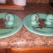 Value of Scooby Doo Plates and Salt Shakers