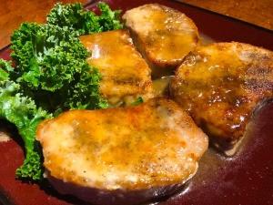 Pork Loin Chops on plate
