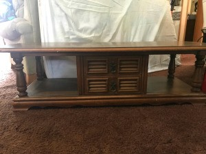 Value of a Mersman Coffee Table - vintage coffee table