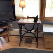 Value of an Antique Singer  Sewing Machine - treadle sewing machine