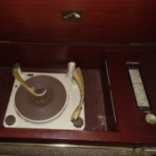 Value of a RCA Victrola High Fidelity Player Cabinet - turntable and radio in cabinet