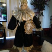 Identifying a Porcelain Doll - doll with two faces and conical hat