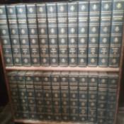 Value of 1768 Encyclopedia Britannica - volumes in bookcase