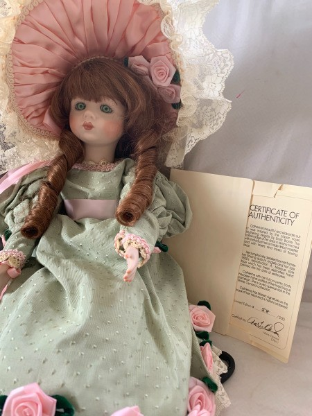 Value of a Marie Osmond Doll - Catherine of Wuthering Heights
