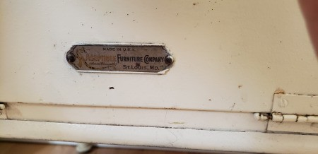 Value of an Aseptible Furniture Company Vintage Medical Cabinet