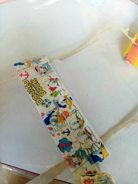 Waterproof Washi Tape Book Bag Tag