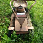 Information on Vintage Riding Lawn Mower - old riding mower