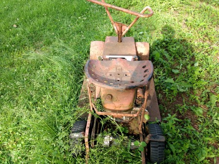 Information on Vintage Riding Lawn Mower