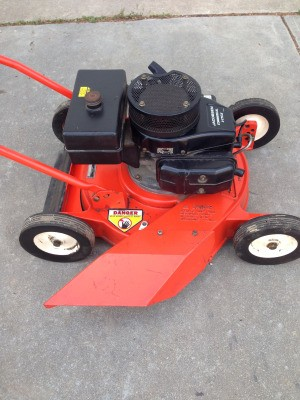 Value of a Jacoben Commerical Push Mower