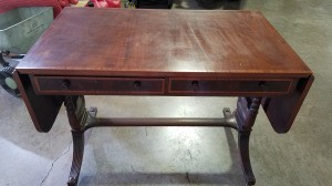 Value of an Imperial Furniture Grand Rapids Desk - antique mahogany desk