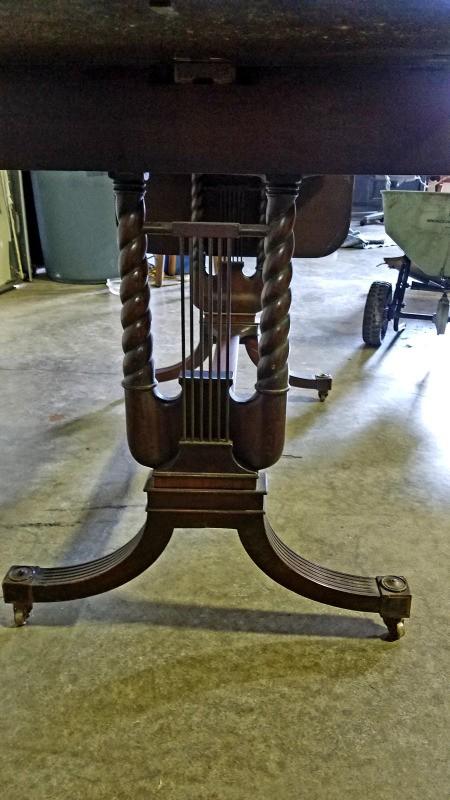 Value of an Imperial Furniture Grand Rapids Desk - ornate desk legs