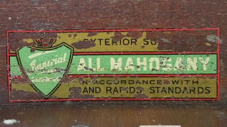 Value of an Imperial Furniture Grand Rapids Desk