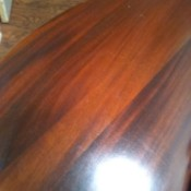 Value of Antique Clawfoot Table - incomplete view of the table top