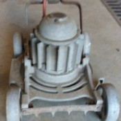 Value of a Louisville Electric Mower - old electric mower with interesting design