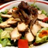 Caramelized Onion Balsamic Chicken Salad in bowl