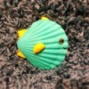 Make a Tropical Fish from Shells - finished fish