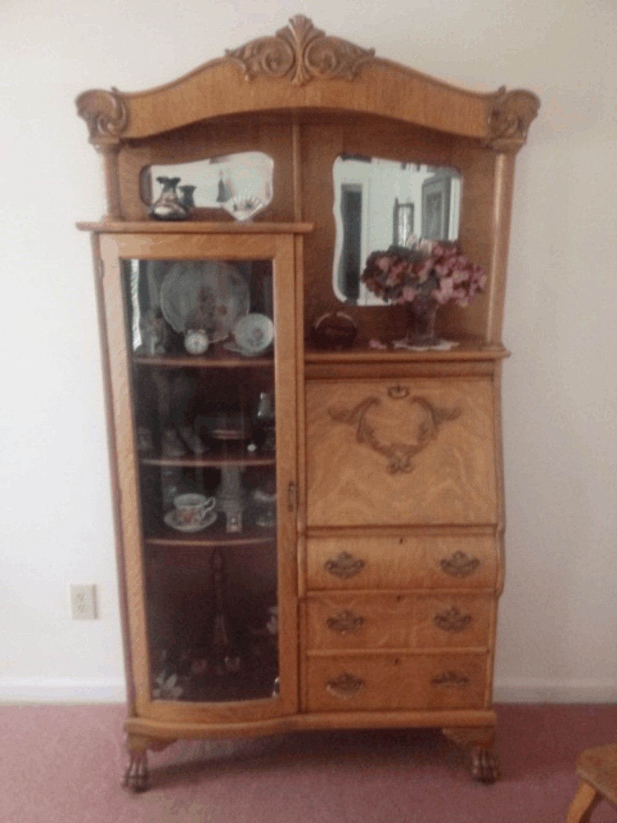 Value Of An Antique Secretary Desk