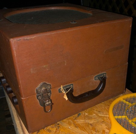 Value of a 1954 David Bogen Record Player with Speaker