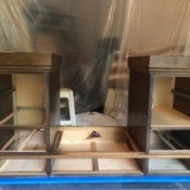 Value of a Mersman Executive Desk - disassembled desk