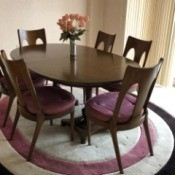 Value of a 1950s Kent Dining Set