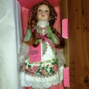 Value and Identity of a Porcelain Doll - doll still in the box