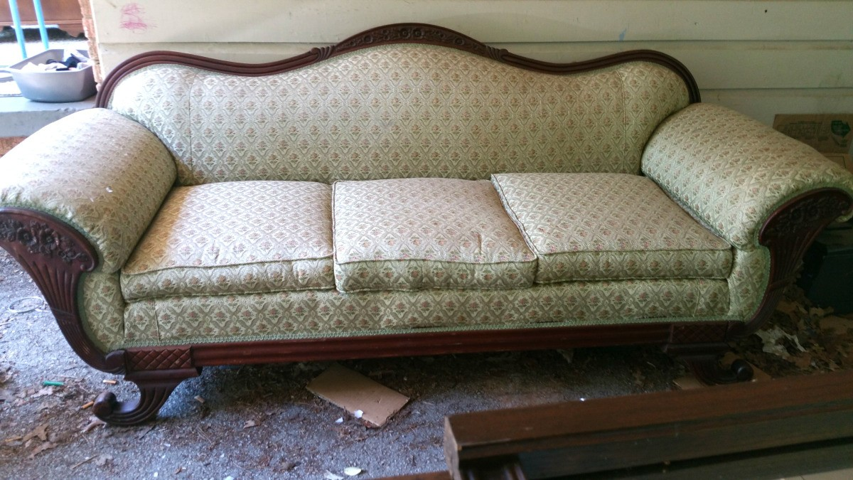 Value Of An Antique Couch Thriftyfun