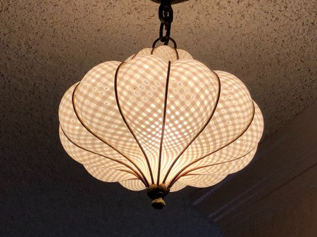 Identifying a Glass Pendant Ceiling Light