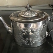 Is This Teapot Silver? - ornate teapot