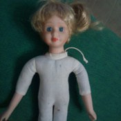 Identifying a Porcelain Doll - porcelain doll with cloth body