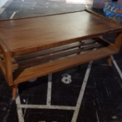 Value of Mersman Tables - coffee table