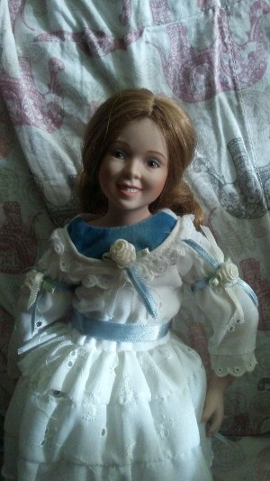 Identifying a MBI Porcelain Doll