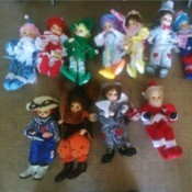 Value of Brinn Porcelain Clown Dolls - doll per month